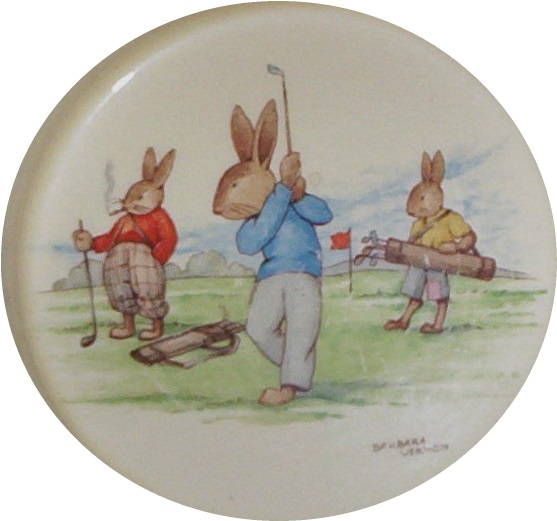 Game of Golf Bunnykins Design SF11