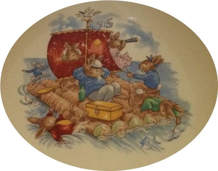 bunnykins raft