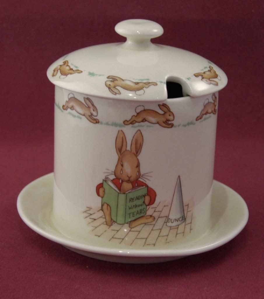 Rare Jam Pot featuring Netting a Cricket and Dunce side 2