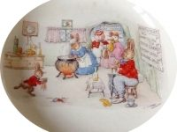 Mrs Moppets Tea Room bunnykins lf6
