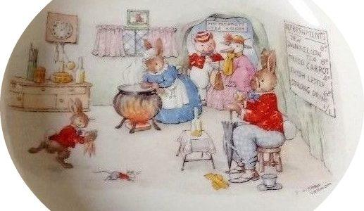 Mrs Moppets Tea Rooms Bunnykins Design