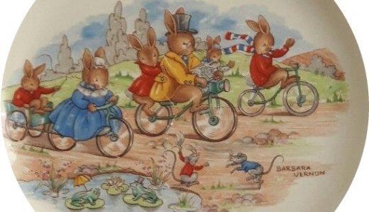 Family Cycling Bunnykins Design