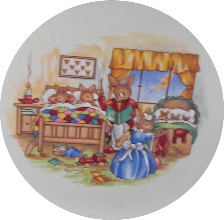 SF130 Bedtime Story Bunnykins Design